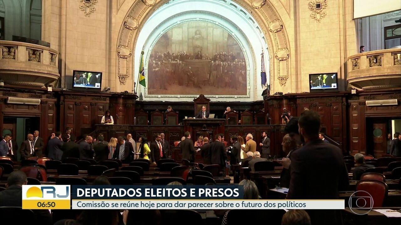 Comissão se reúne nesta segunda (21) para decidir futuro de deputados presos