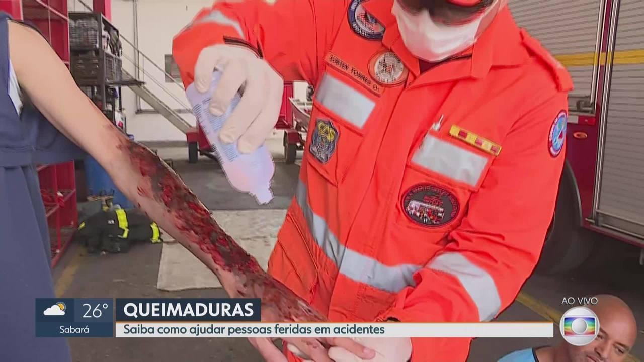 MG1: Saiba como ajudar pessoas feridas em acidentes
