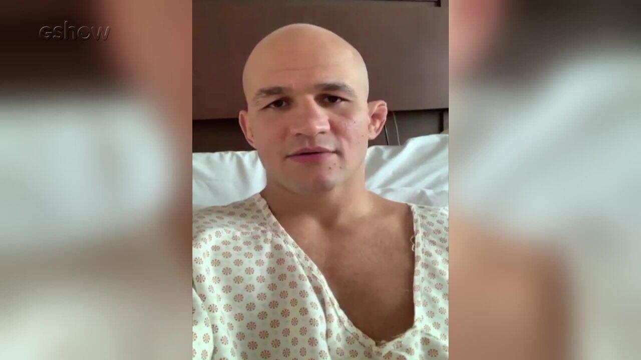 Junior Cigano usa as redes sociais para explicar seu estado de saúde e tranquilizar os fãs