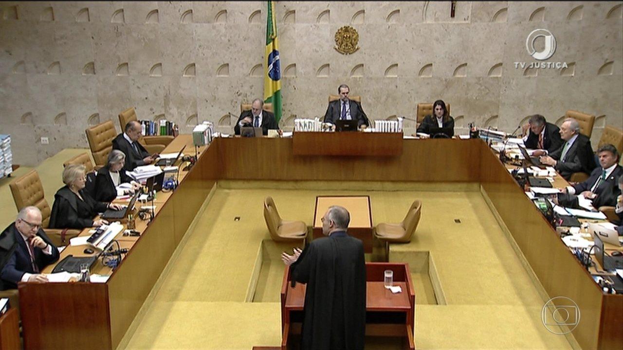Resultado de imagem para ministros que votaram a favor da prisão em segunda instância 2016