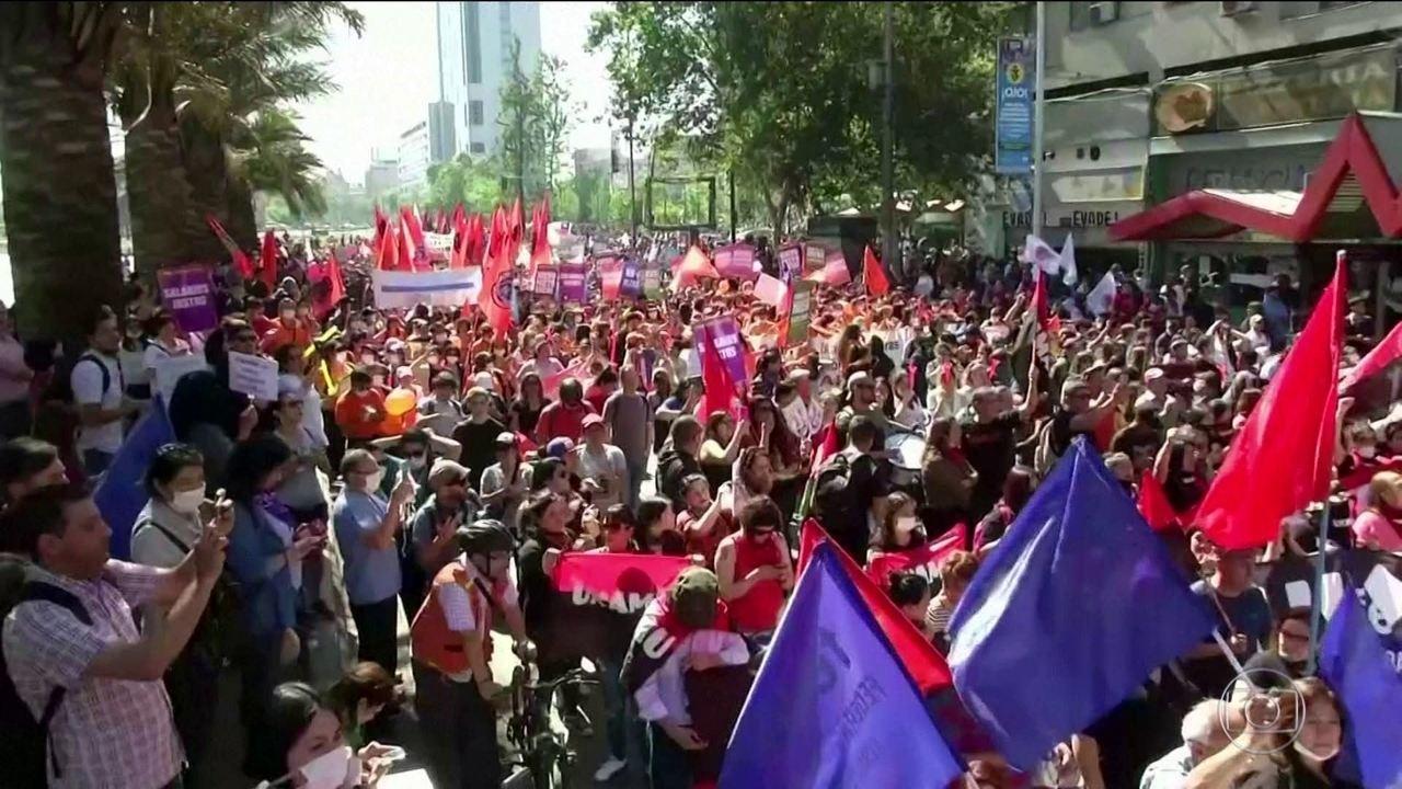 Número de mortos no Chile chega a 18 em sexto dia de protestos