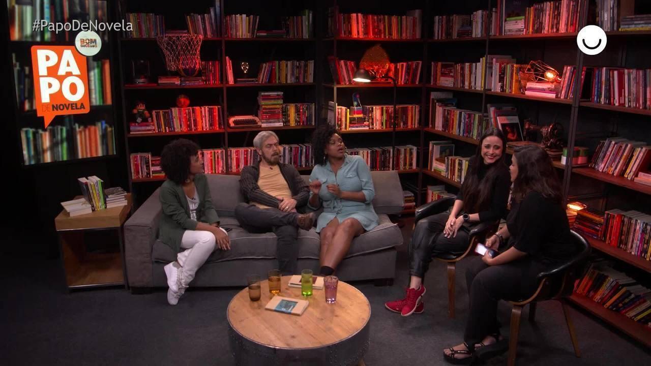 Papo de Novela #08: Alexandra Martins, Anderson Müller e Carla Cristina Cardoso