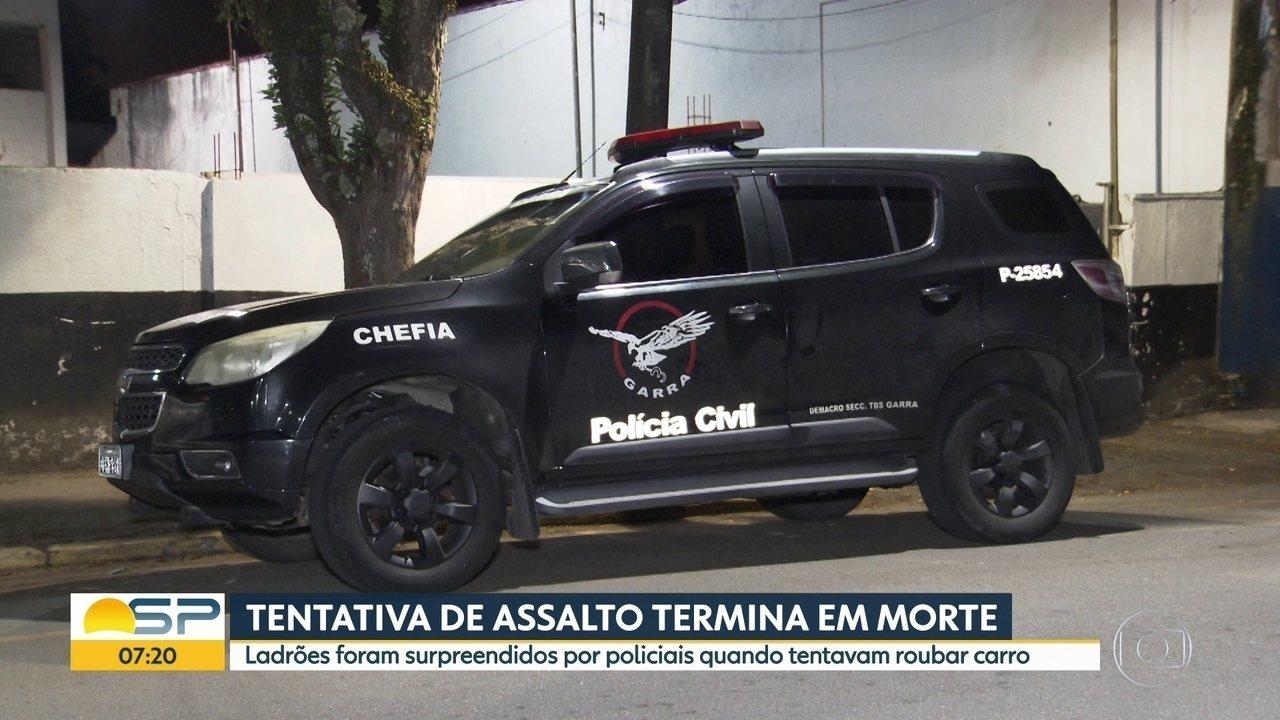 Homem é baleado durante tentativa de assalto em Taboão da Serra