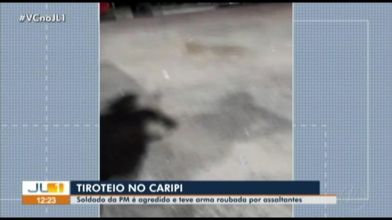 Policial é ferido e tem arma roubada durante tiroteio em Barcarena, no Pará