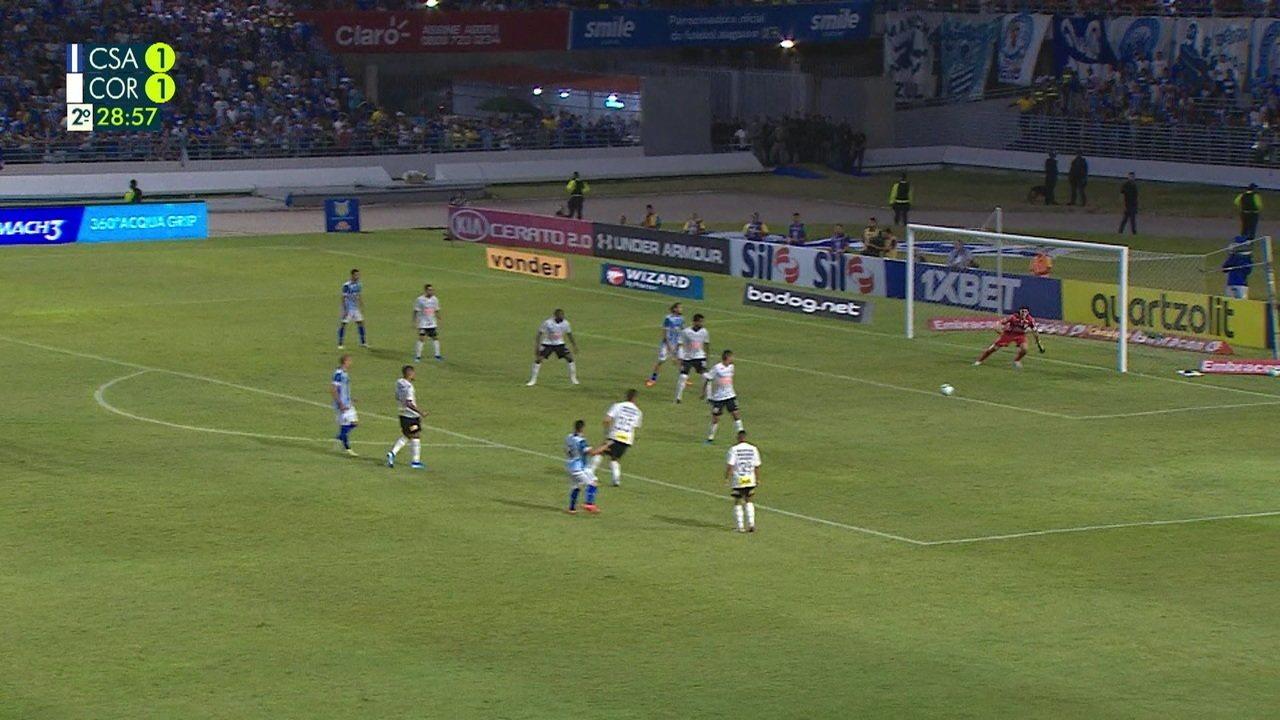 Melhores momentos de CSA 2 x 1 Corinthians pela 29ª rodada do Campeonato Brasileiro
