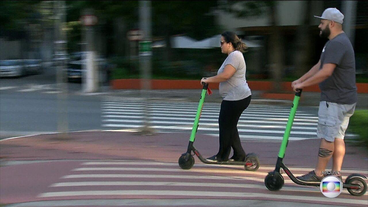 Prefeitura de SP publica novas regras para uso de patinetes