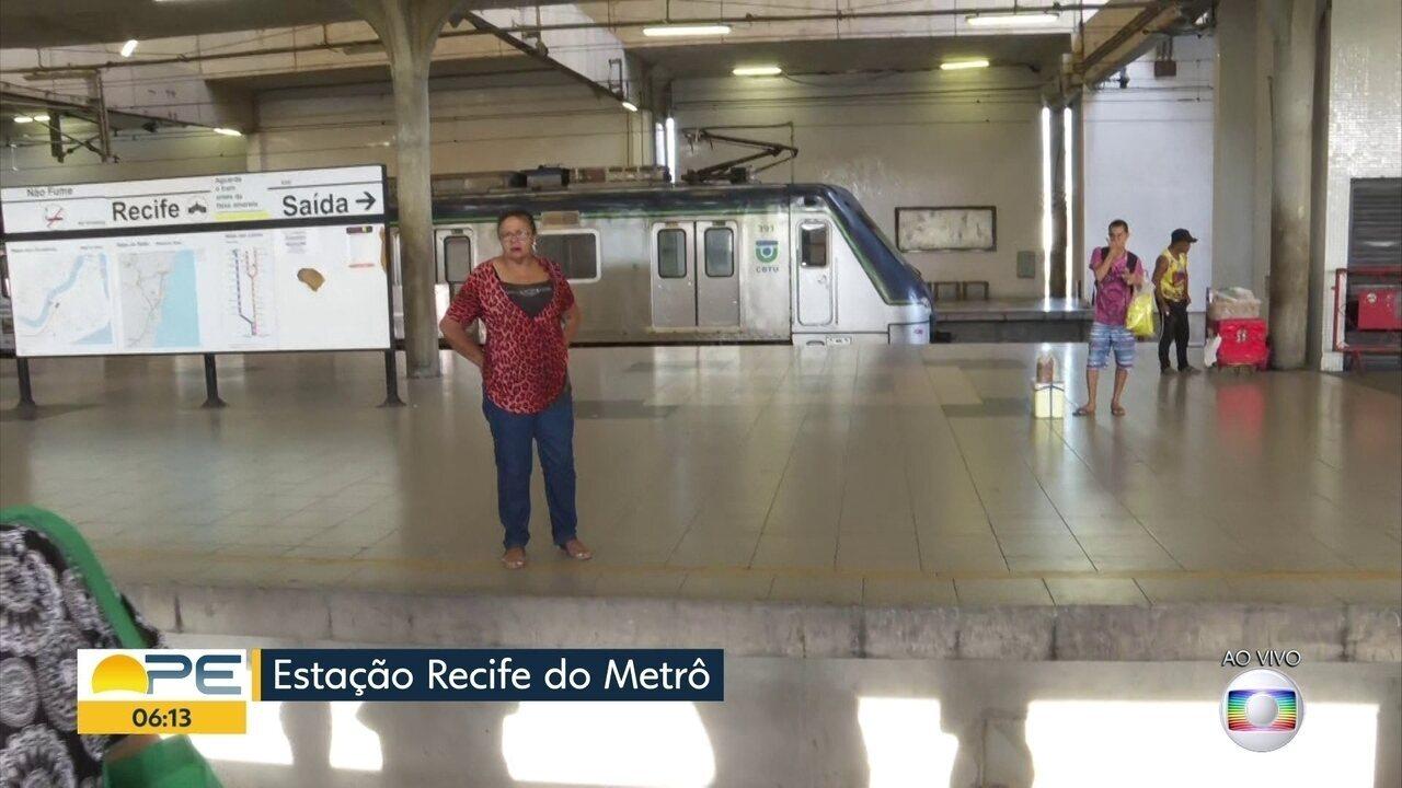Passagem do metrô sobe para R$ 3,40 a partir do domingo