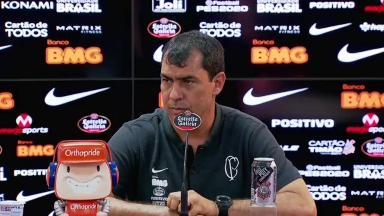 Veja a entrevista de Fábio Carille no Corinthians nesta sexta-feira