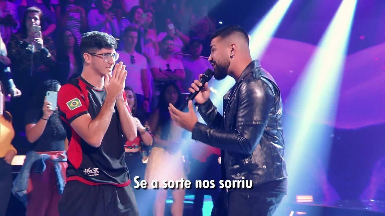 """Veja o clipe da música """"A Sorte nos Sorriu"""" na voz de Dilsinho"""