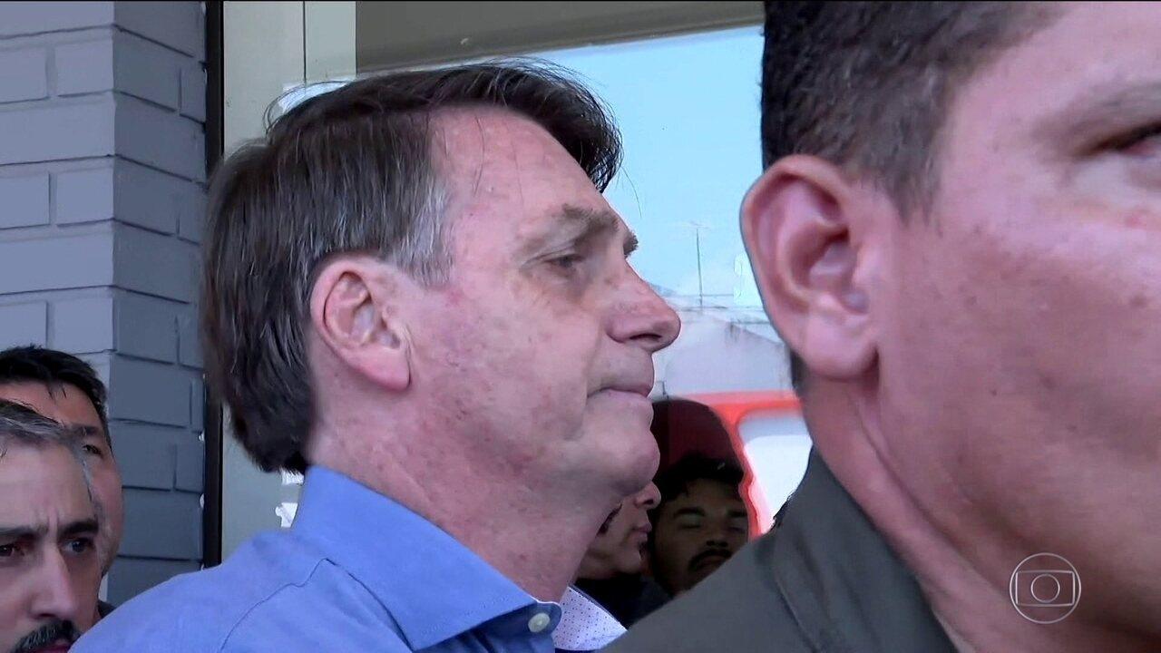 Bolsonaro diz que pegou gravação da portaria do condomínio 'para que não fosse adulterada'