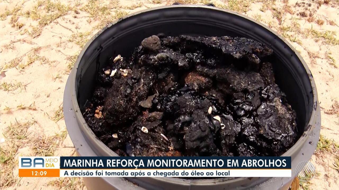Arquipélago de Abrolhos é atingido por mancha de óleo e visitação é suspensa por três dias