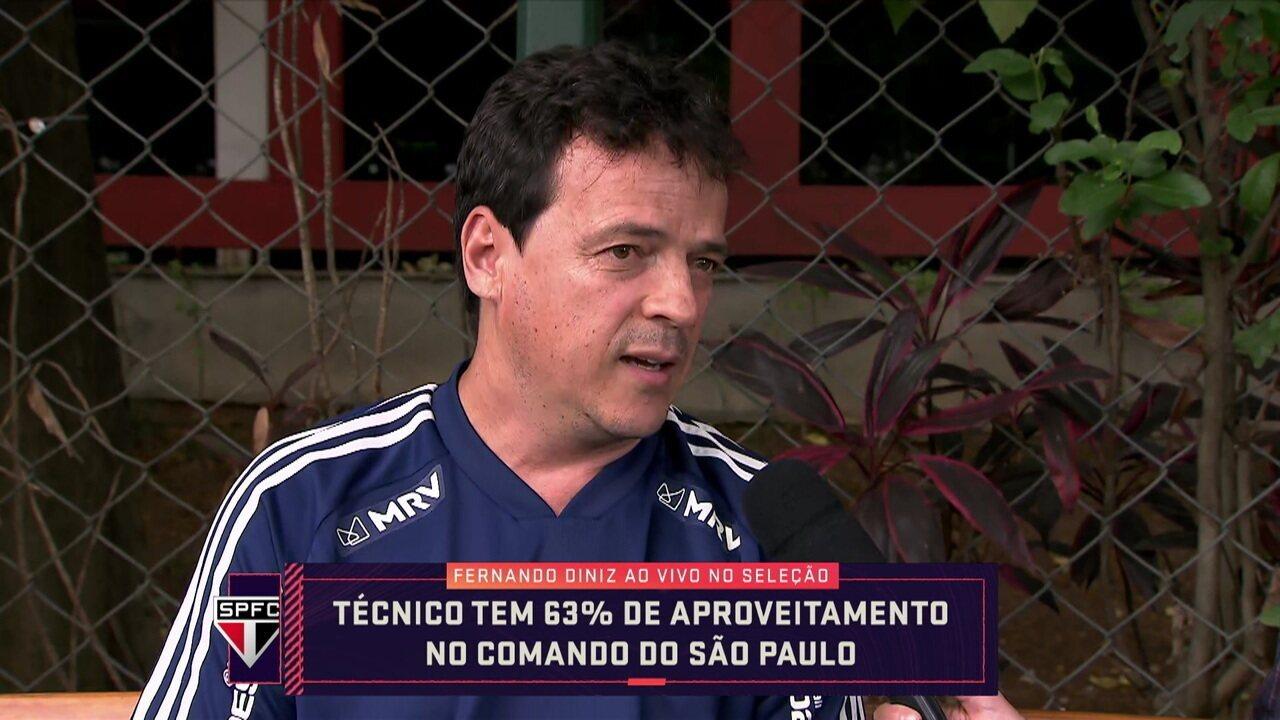 Seleção entrevista o técnico Fernando Diniz
