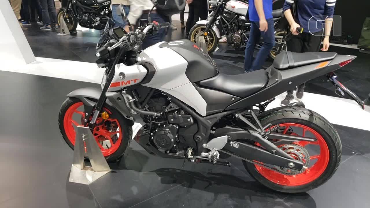Yamaha aposta em motos que parecem robôs no Salão de Milão
