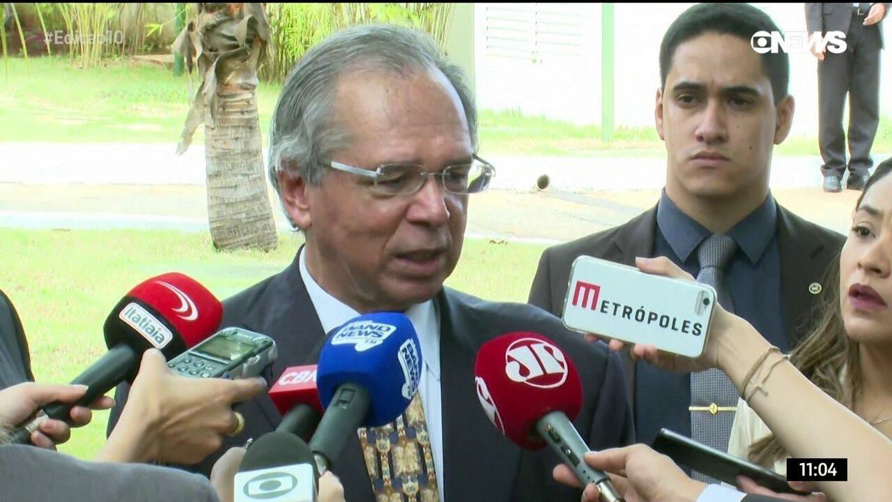 'Seria arrogância dizer que tem ponto inegociável', diz Guedes sobre pacote econômico
