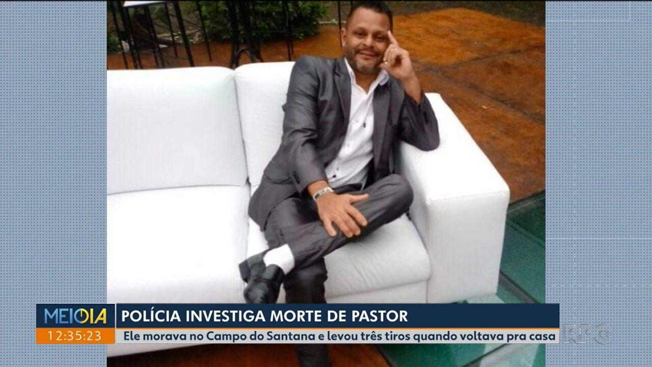 Polícia investiga morte de Pastor no Campo do Santana
