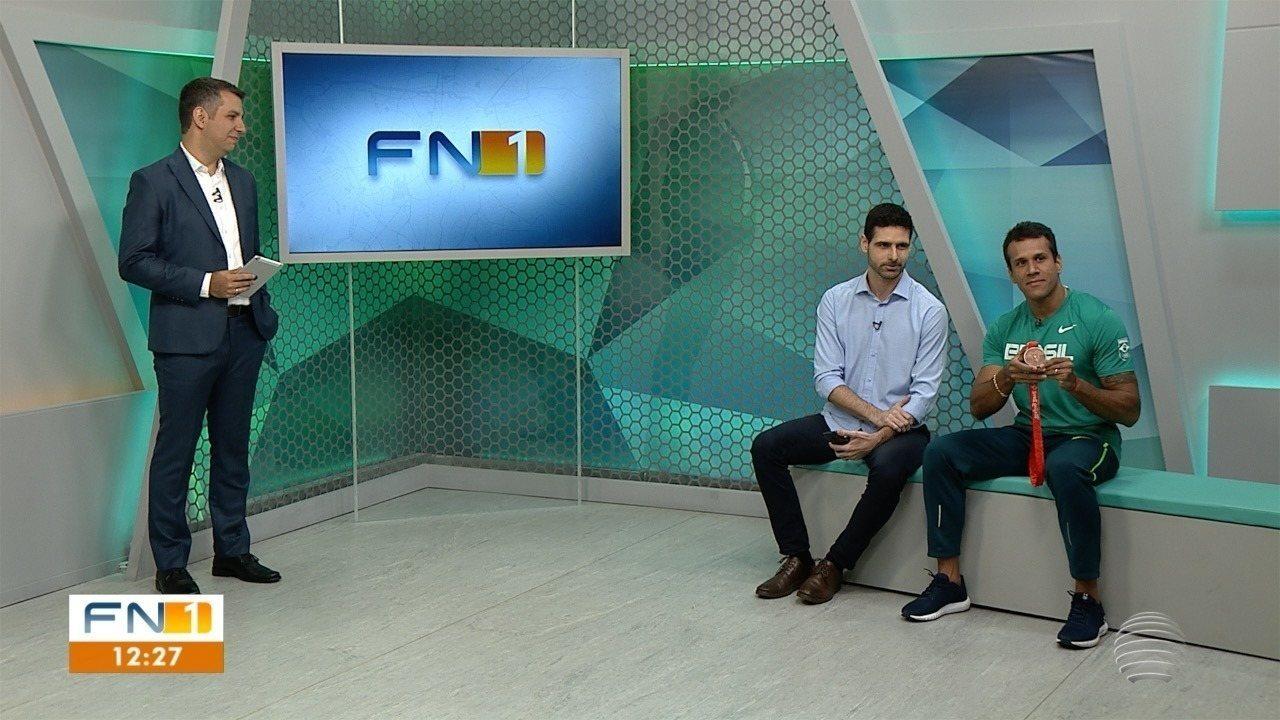 Bruno Lins participou do FN1; veja como foi a entrevista