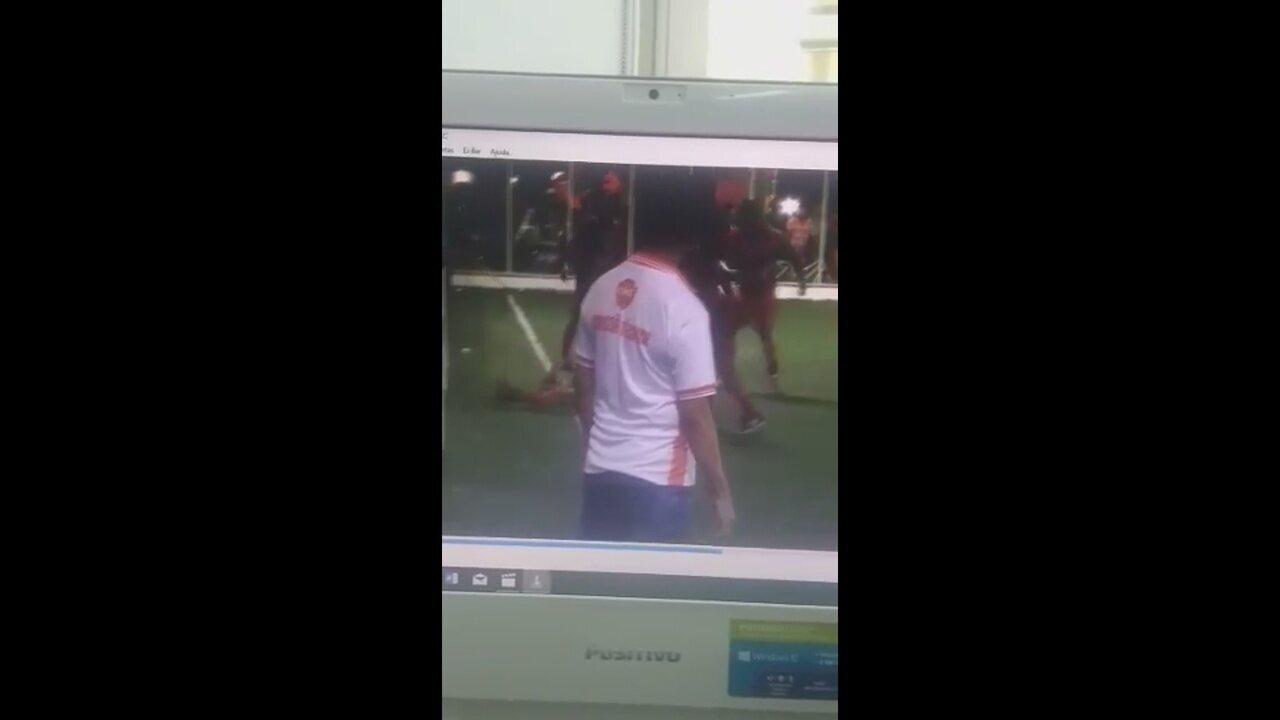 Omã alega que bola saiu pela linha lateral em gol de empate do Malta na Copa Marcílio Dias