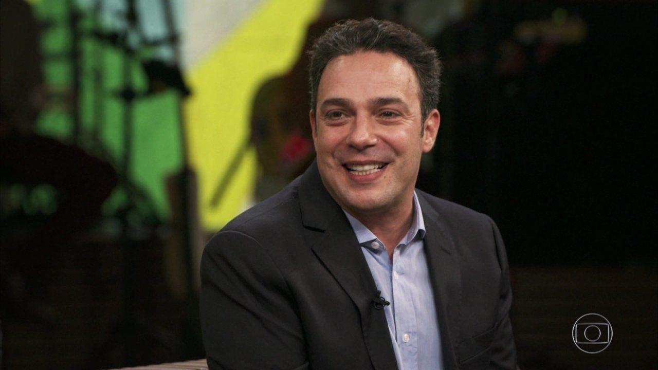 Marcelo Médici fala sobre a criação do personagem Sanderson