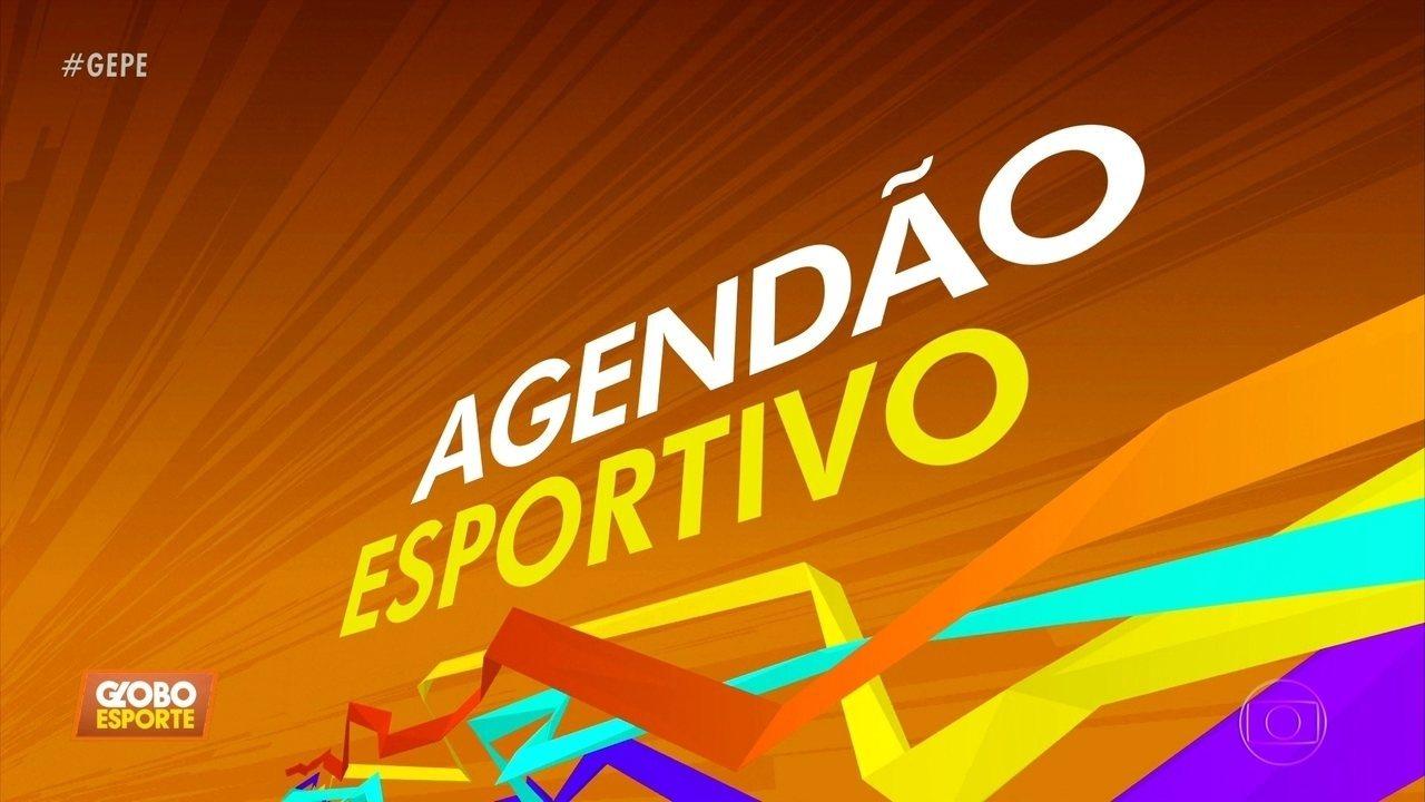 Agendão esportivo: Os eventos esportivos de Pernambuco neste fim de semana