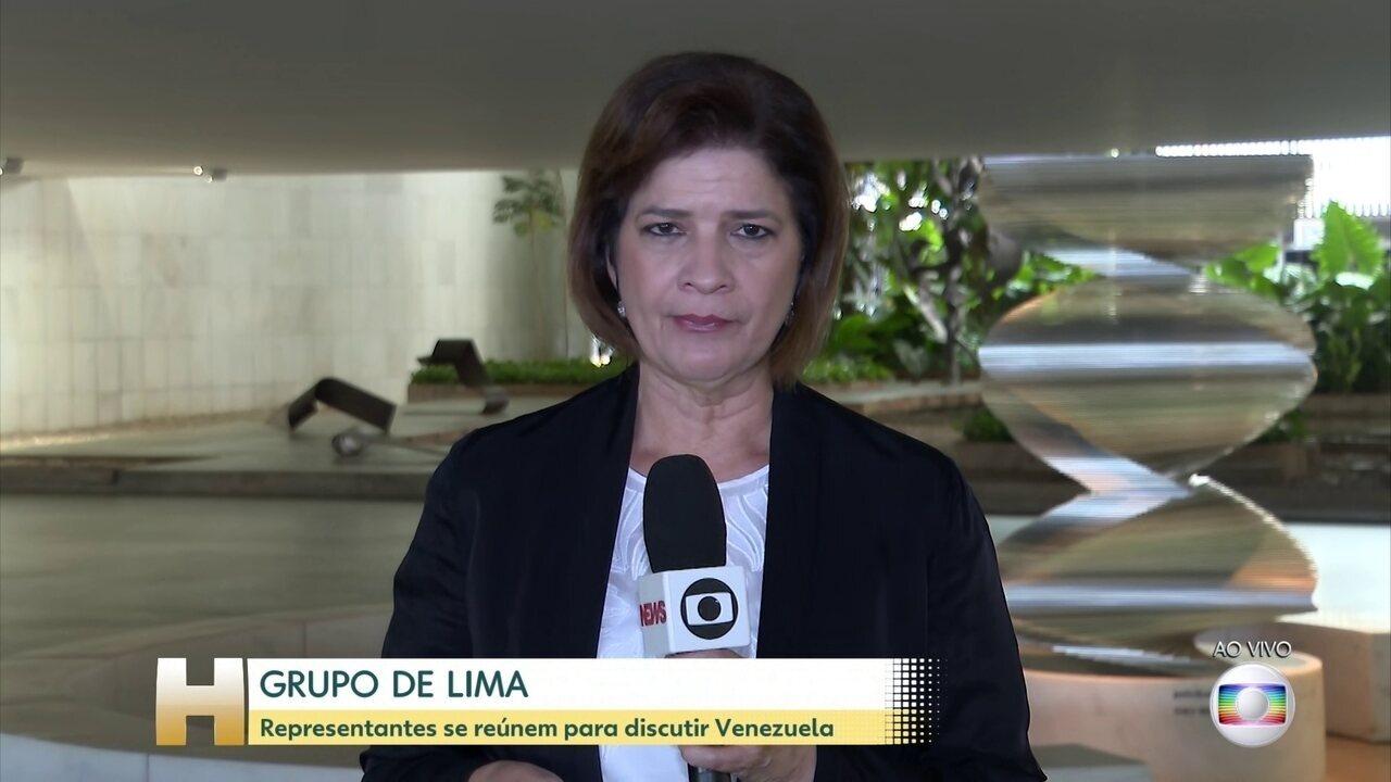Representantes do Grupo de Lima se reúnem para discutir Venezuela