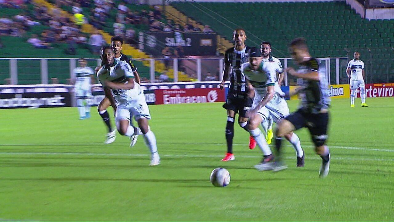 Melhores momentos de Figueirense 1x1 Coritiba, pela 34ª rodada da Série B do Brasileiro