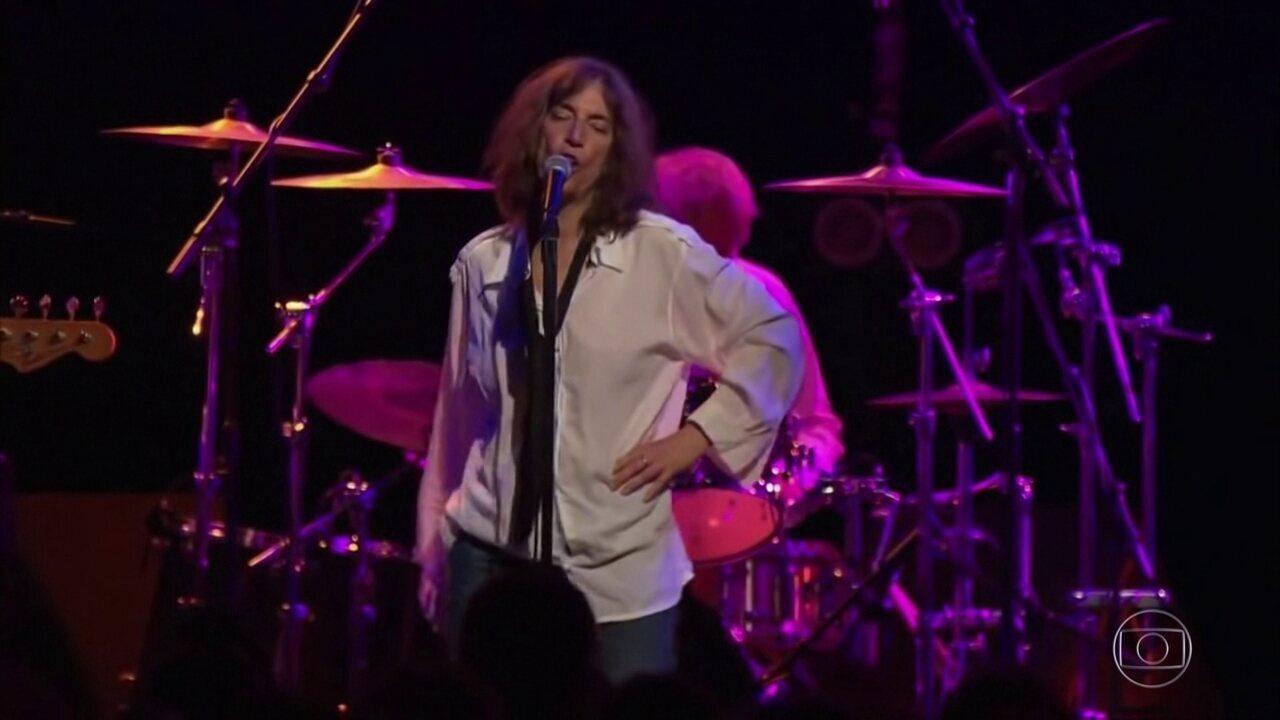 Patti Smith é tema da coluna de Nelson Motta