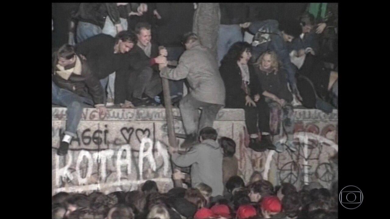 Alemanha recorda os 30 anos da queda do muro de Berlim