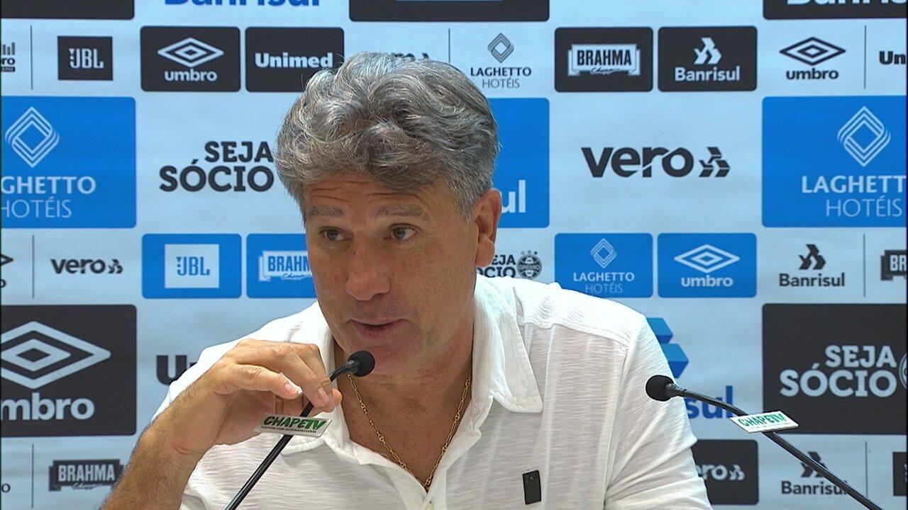 Renato Gaúcho promete dar um carro popular para Luciano pelo gol de bicicleta