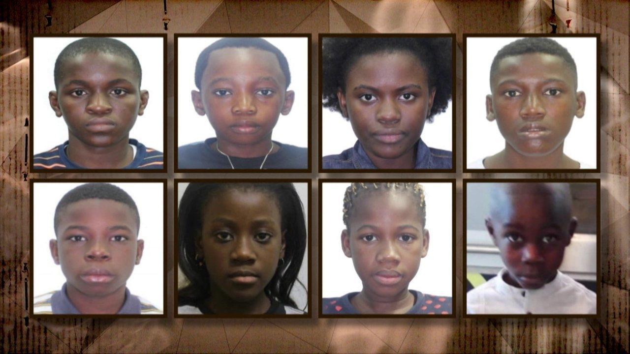 Investigação: crianças africanas deixam o Rio com documentos brasileiros