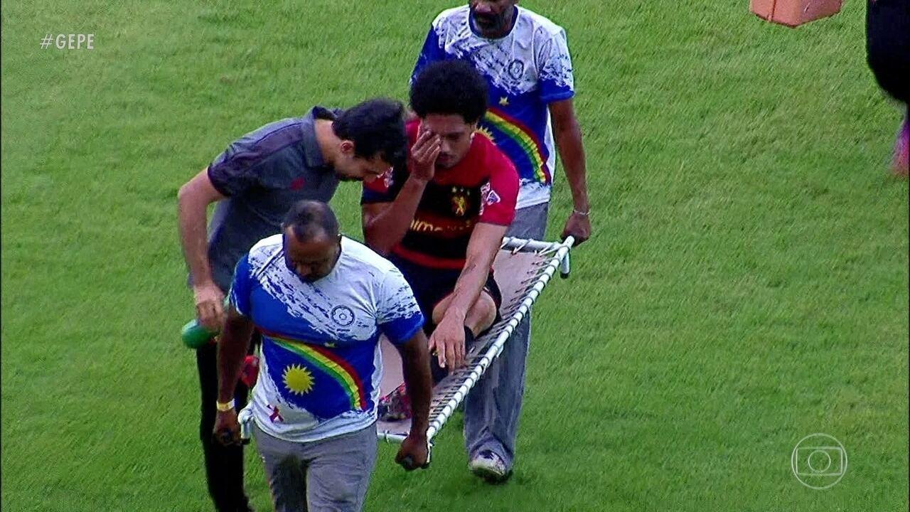 Entenda a lesão que tirou Hernane Brocador do restante da temporada