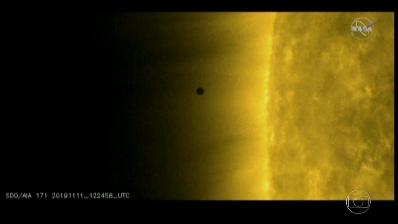 Trânsito do planeta mercúrio foi acompanhando por milhões de pessoas