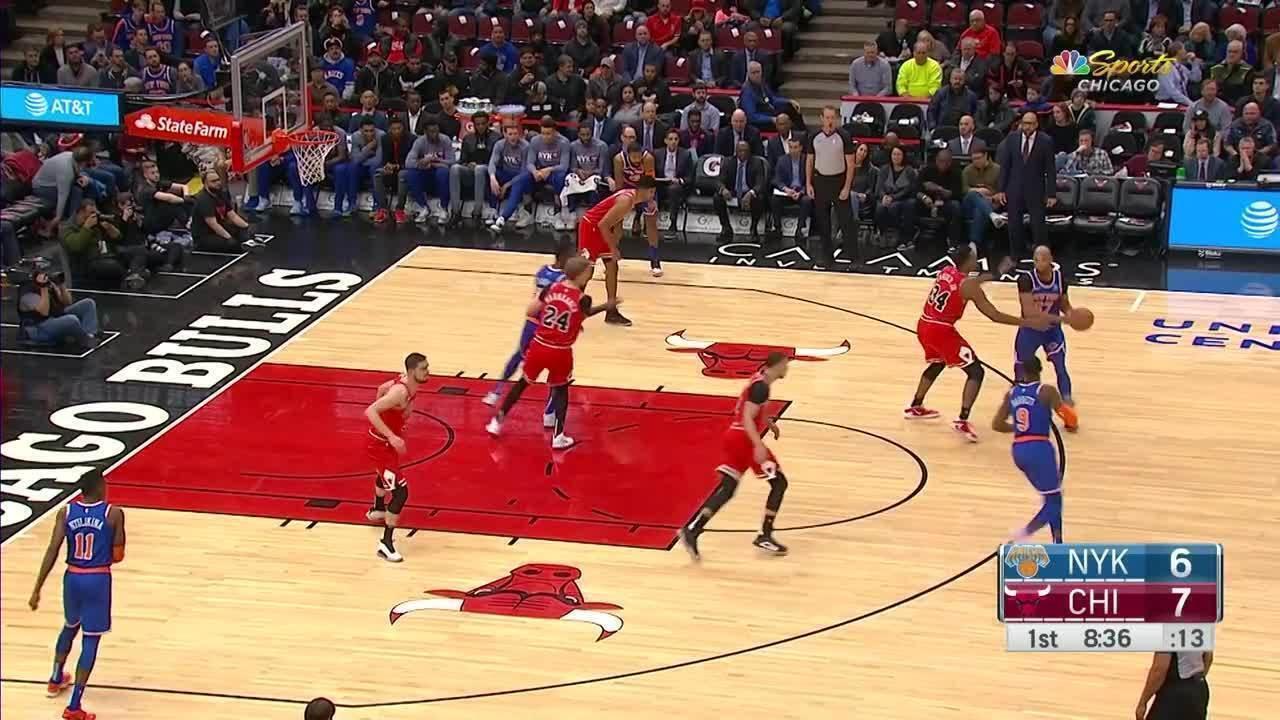 Melhores momentos: Chicago Bulls 120 x 102 New York Knicks, pela NBA