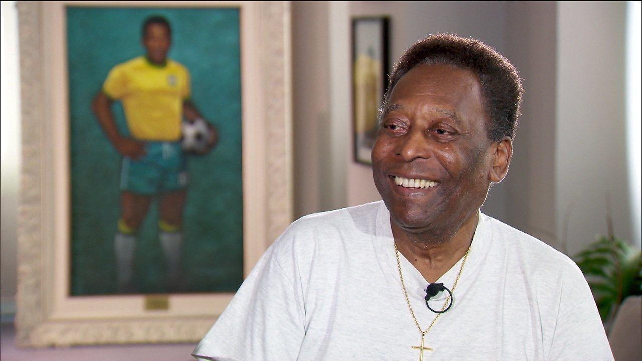 Recuperado de problemas de saúde, Pelé elogia Sampaoli, Soteldo, Rodrygo e Neymar