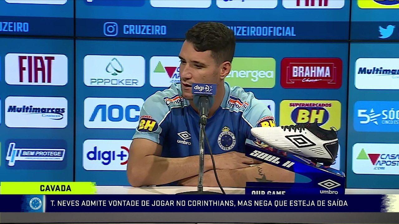 Após declaração de Thiago Neves sobre vontade de jogar no Corinthians, Thiago Neves convoca coletiva para amenizar polêmica