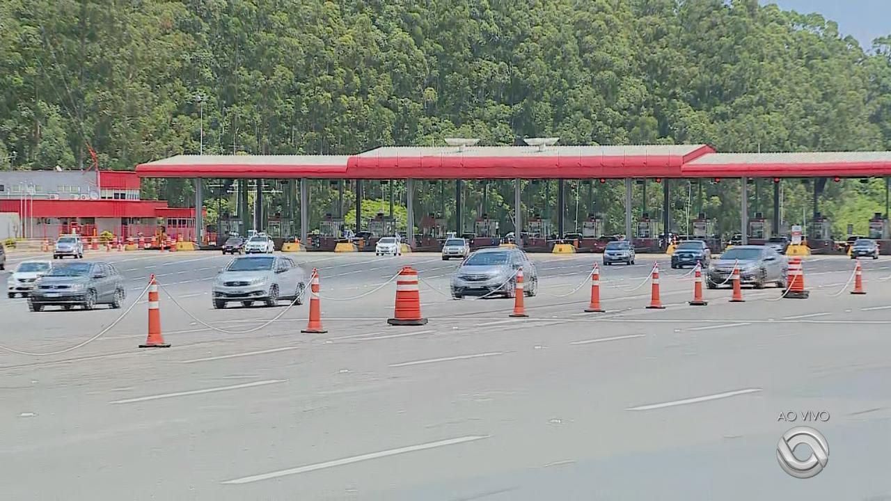 Expectativa é que 45 mil veículos passem pela freeway nesta sexta-feira (15)