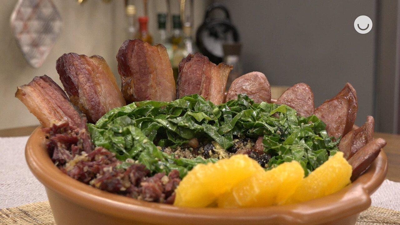 Feijão-tropeiro Carioca do cozinheiro David Bispo