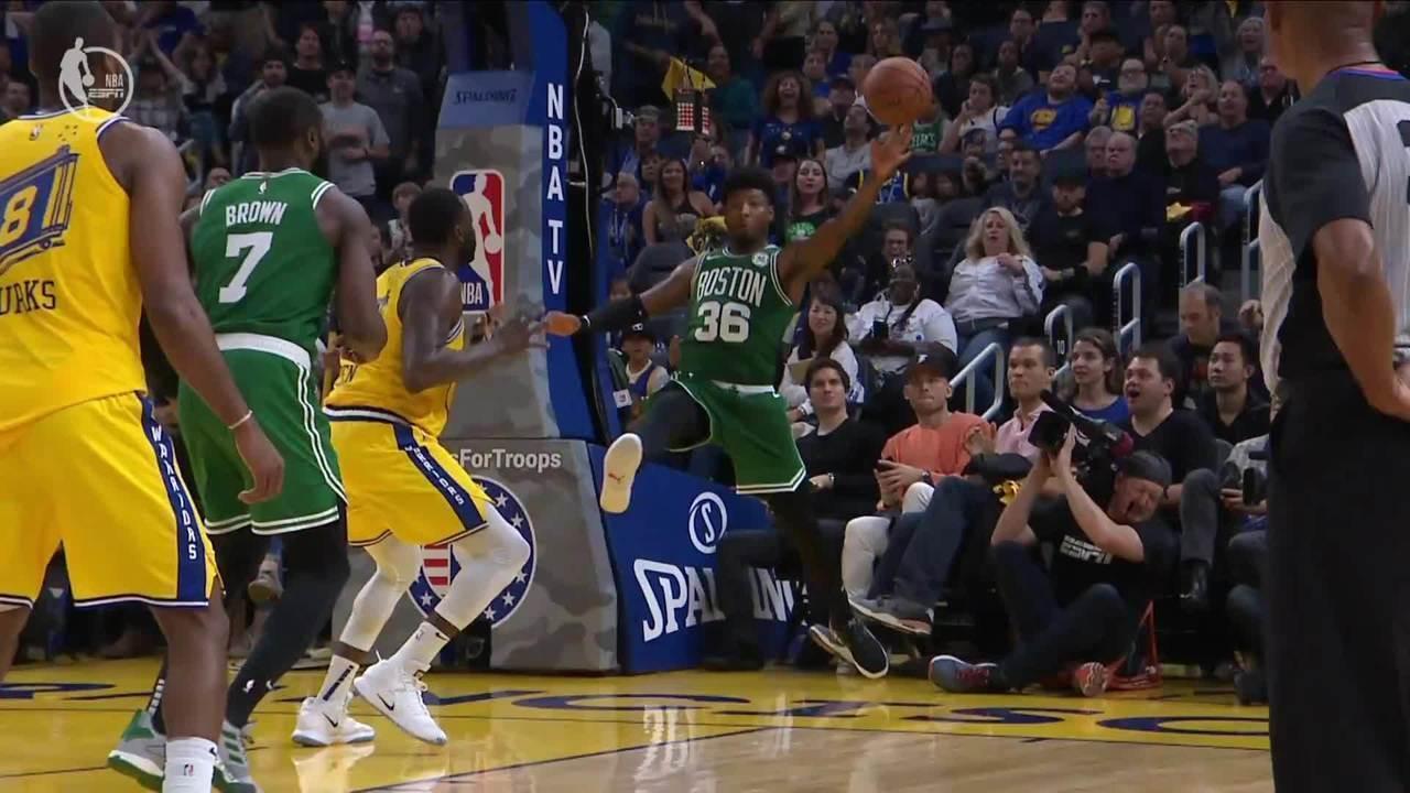 Melhores momentos: Boston Celtics 105 x 100 Golden State Warriors, pela NBA
