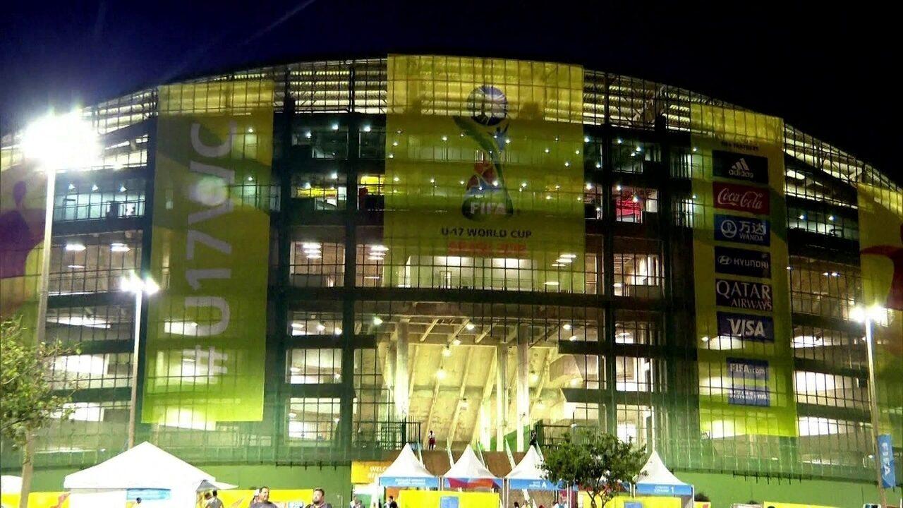 Globo Comunidade DF - Edição de 17/11/2019 - Final do Mundial Sub-17, entre Brasil e México, movimenta o Gama. Estádio do Bezerrão é o grande palco da partida. Veja a história desse estádio.