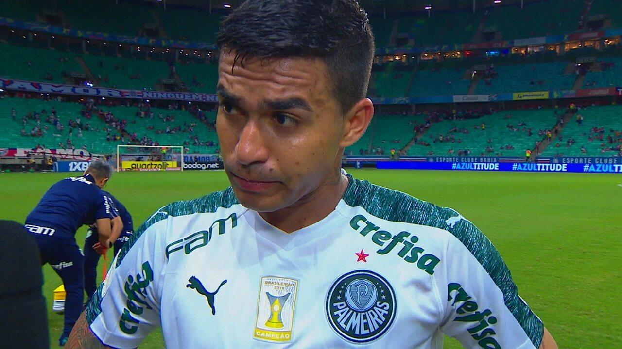 """""""Se tivesse caprichado mais um pouco, poderíamos ter ganho o jogo"""", diz Dudu após empate c"""