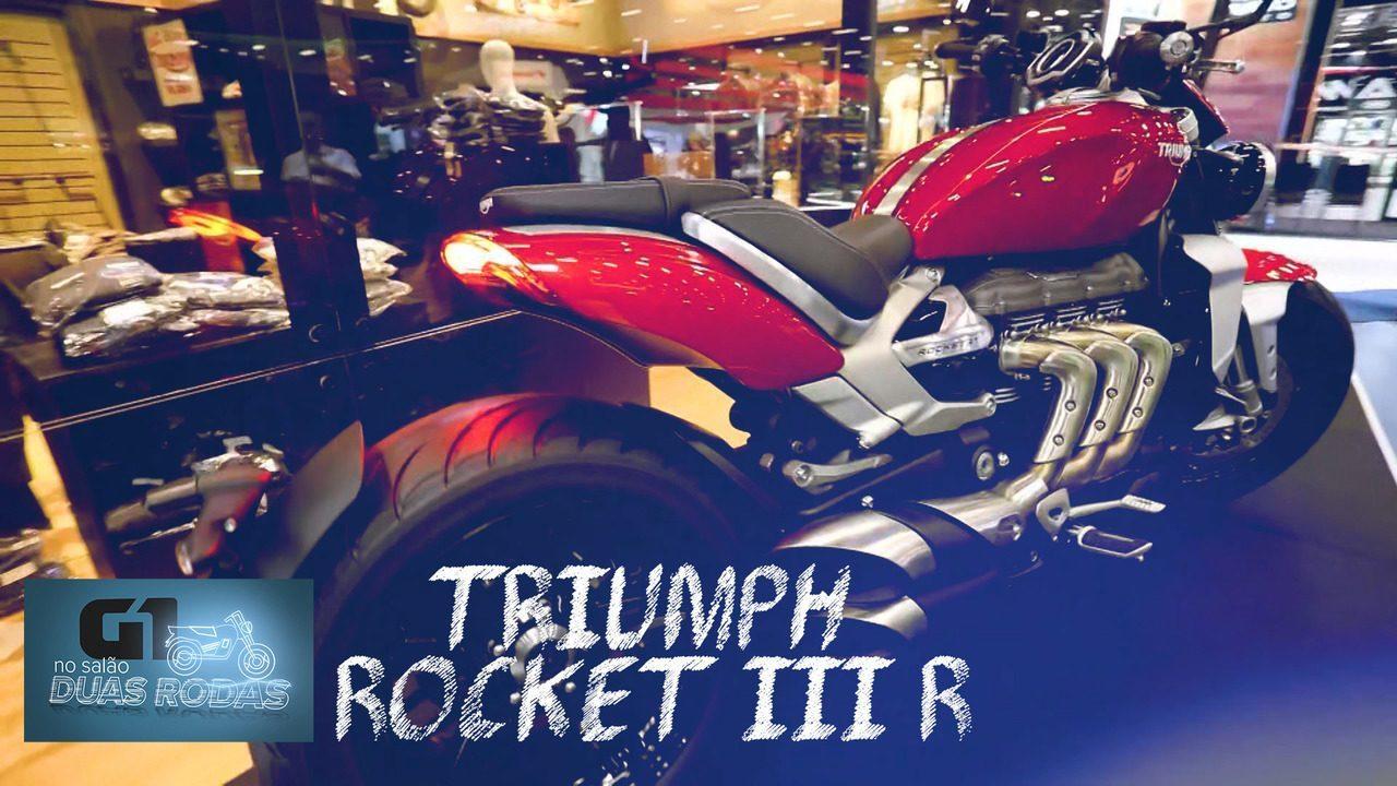 Salão Duas Rodas 2019: Triumph Rocket III R
