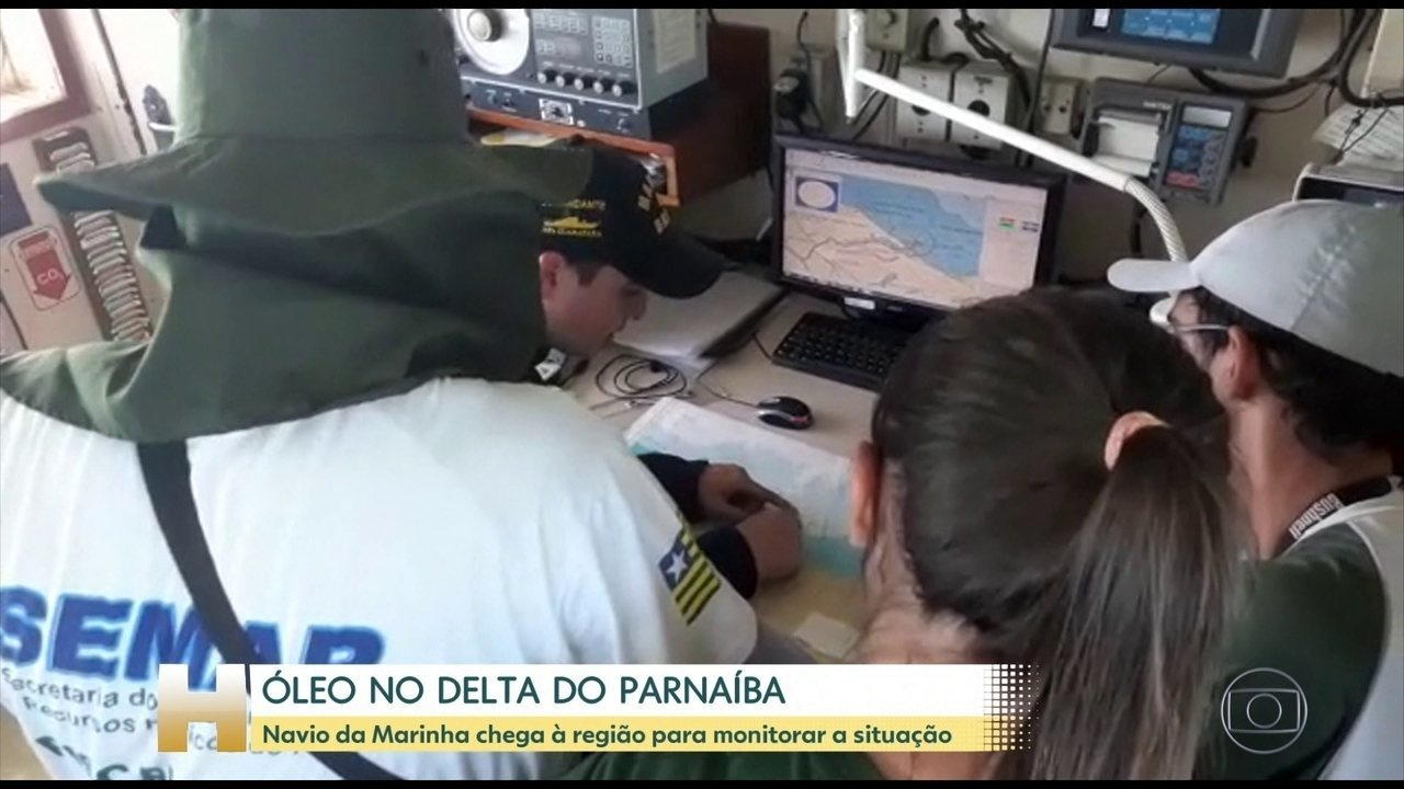 The Navy confirmed that the area of the Parnaba River Delta was hit by oil