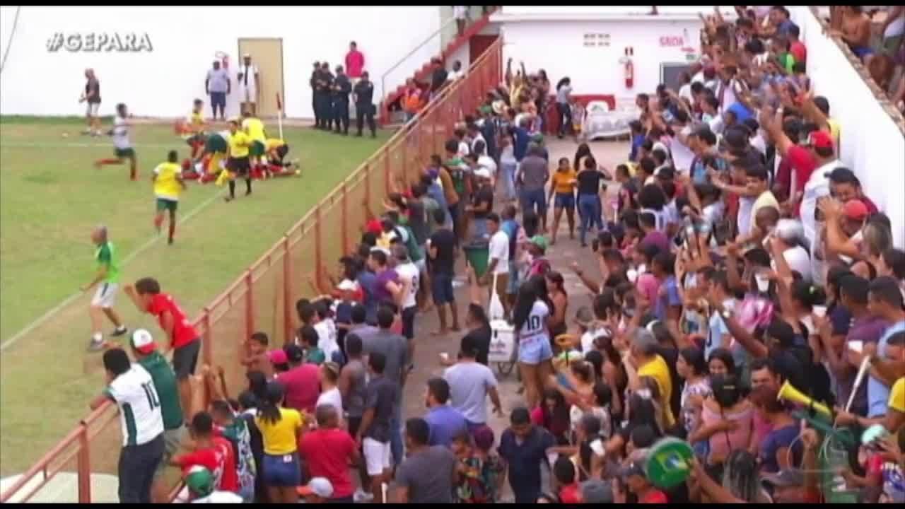 Itupiranga larga com vantagem diante do Cametá na semifinal da Segundinha