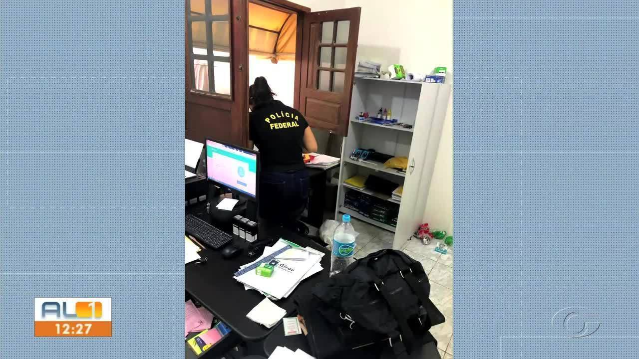 PF realiza operação contra fraudes em licitações e desvio de recursos em Girau do Ponciano