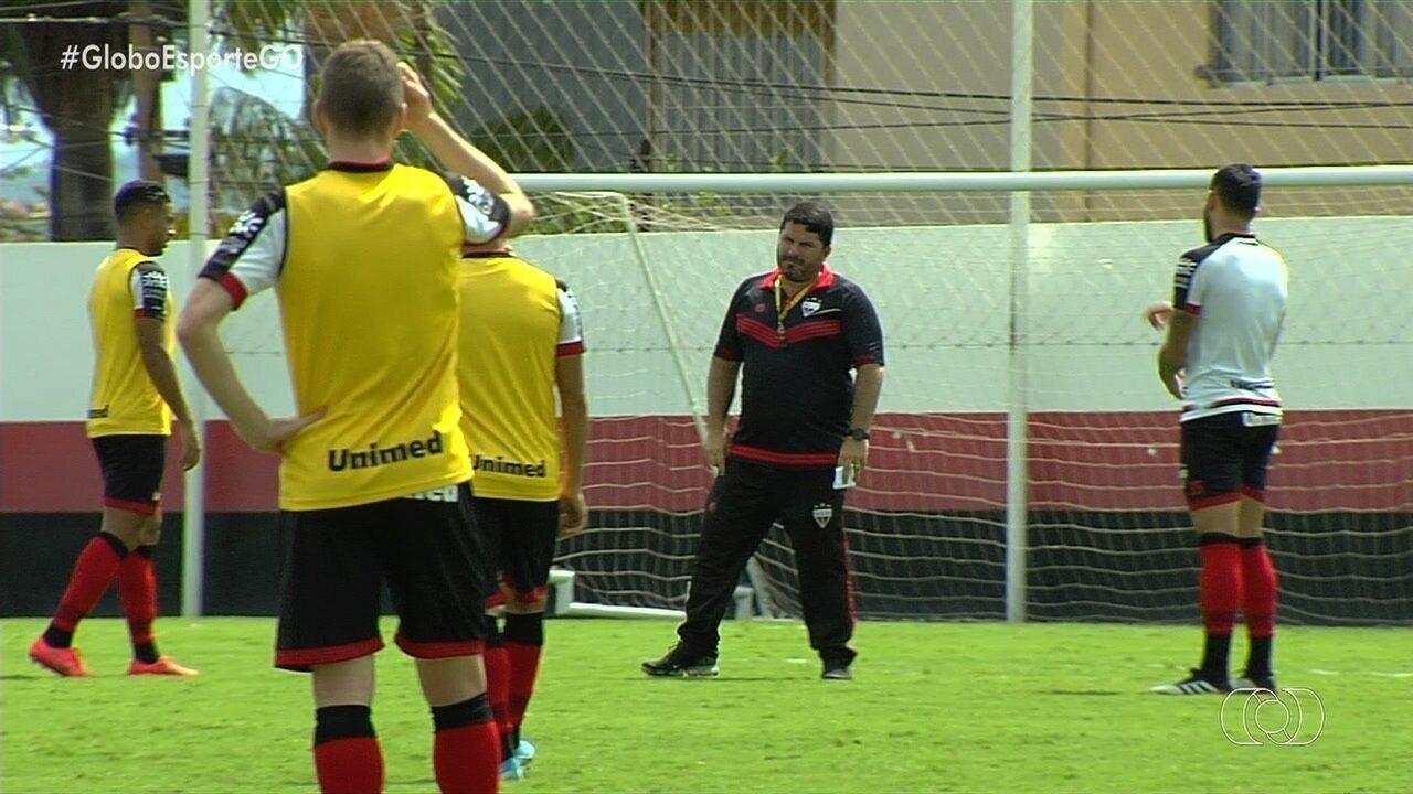 Atlético-GO intensifica preparação para confronto com Brasil de Pelotas