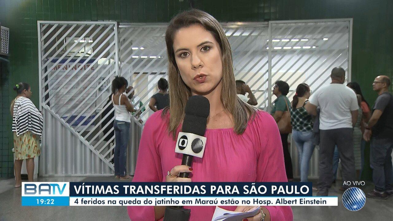 Quatro feridos em queda de jatinho em Marau são transferidos para São Paulo