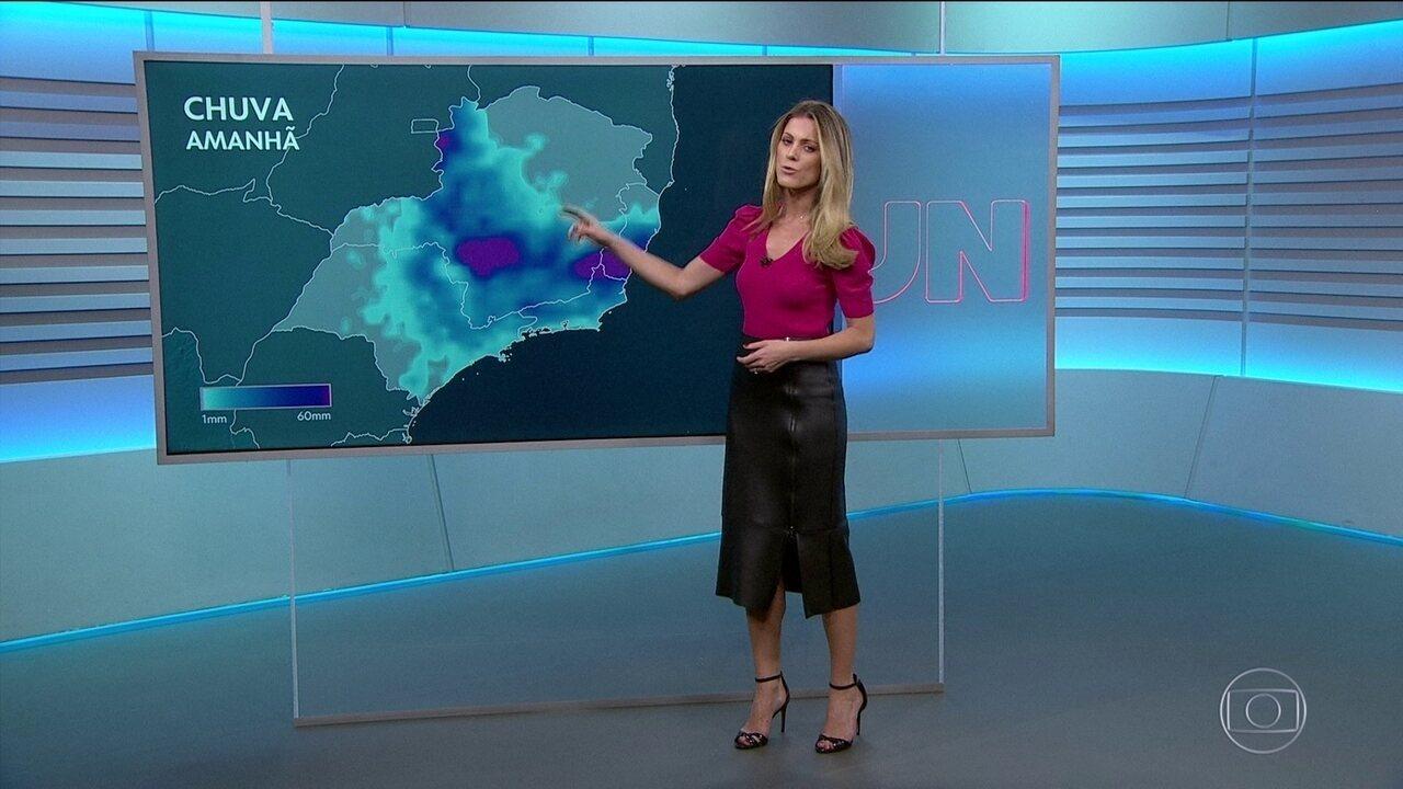 Previsão é de mais chuva para o Rio de Janeiro e o Espírito Santo