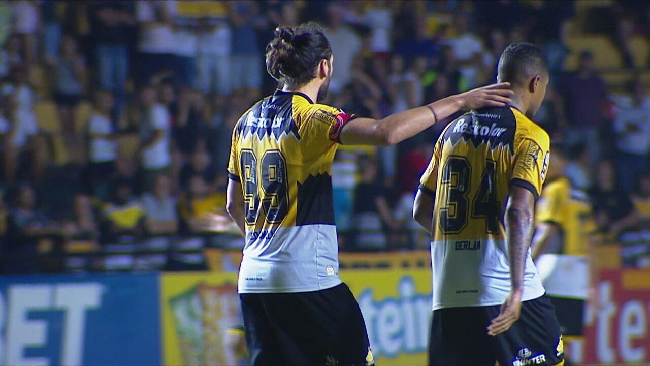 Melhores momentos: Criciúma 1 x 1 Paraná pela 37ª rodada da Série B