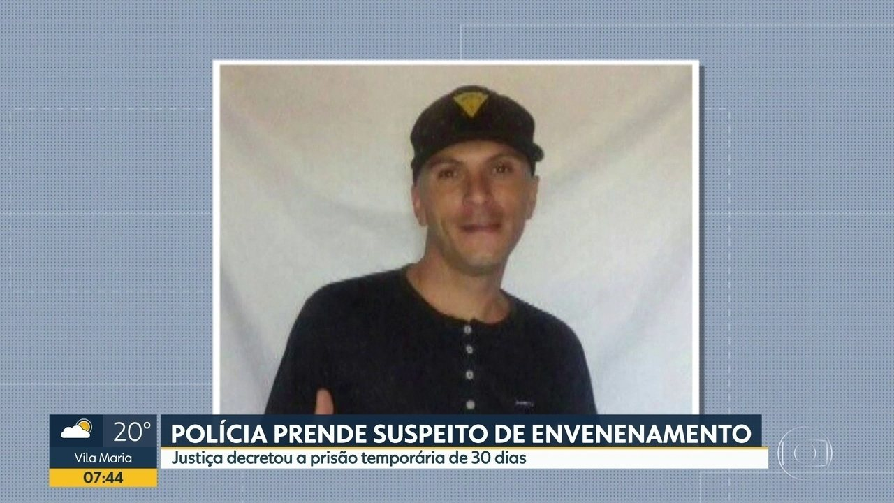 Polícia prende sobrevivente de um suposto envenenamento em Barueri