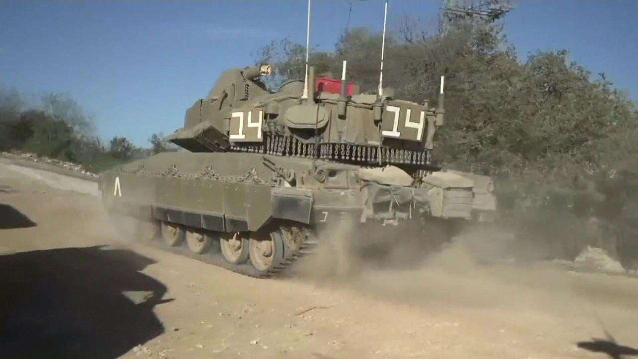 Israel lança mísseis contra a Síria