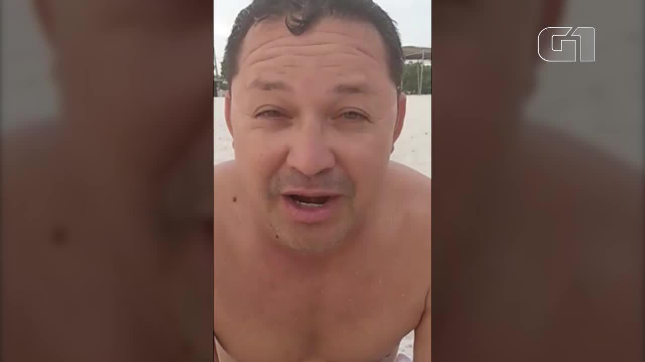 Vereador de Portel (PA) aparece em vídeo curtindo praia e zombando de servidores